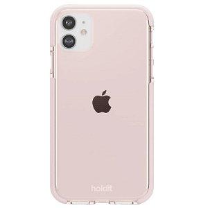 Holdit iPhone 11 Seethru Bakdeksel - Blush Pink