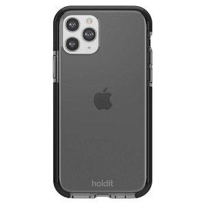 Holdit iPhone 11 Pro Seethru Bakdeksel - Svart