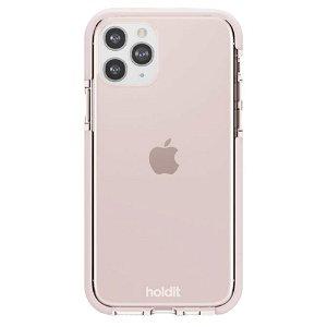 Holdit iPhone 11 Pro Seethru Bakdeksel - Blush Pink