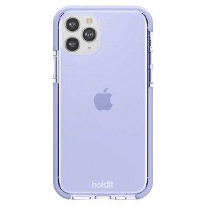 Holdit iPhone 11 Pro Seethru Bakdeksel - Lavendel