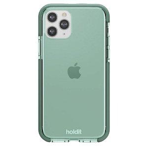 Holdit iPhone 11 Pro Seethru Bakdeksel - Mosegrønn