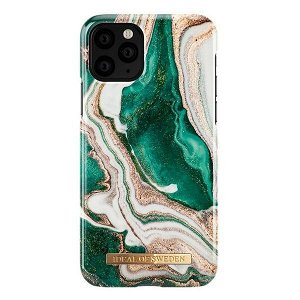 iDeal Of Sweden iPhone 11 Pro Fashion Case Golden Jade Marble
