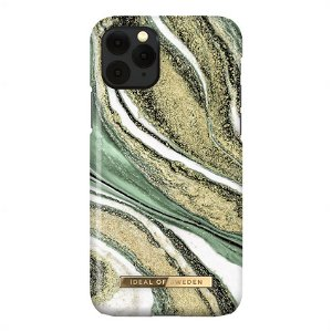 iDeal Of Sweden iPhone 11 Pro Fashion Case Cosmic Green Swirl