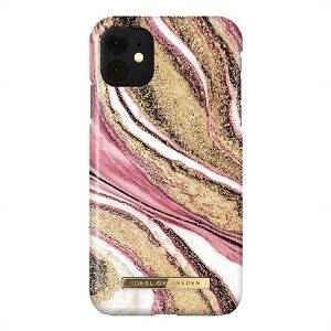 iDeal Of Sweden iPhone 11 Fashion Case Cosmic Pink Swirl