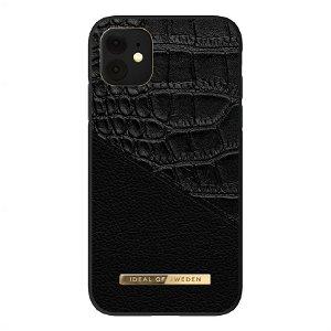 iDeal Of Sweden iPhone 11 Fashion Case Atelier - Nightfall Croco
