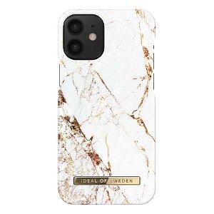 iDeal Of Sweden iPhone 12 Mini Fashion Case - Carrara Gold