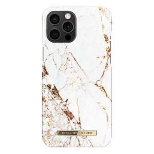 iDeal Of Sweden iPhone 12 Pro Max Fashion Case - Carrara Gold