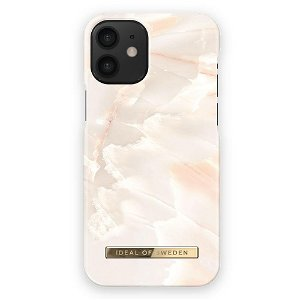 iDeal Of Sweden iPhone 12 Mini Motedeksel Rose Pearl Marble