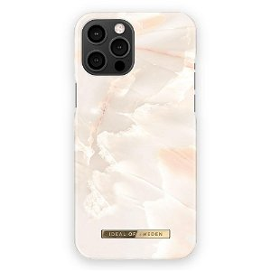 iDeal Of Sweden iPhone 12 Pro Max Motedeksel Rose Pearl Marble