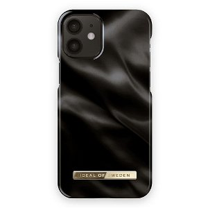 iDeal Of Sweden iPhone 12 Mini Motedeksel Black Satin