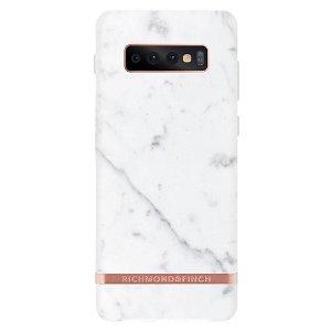 Richmond & Finch Samsung Galaxy S10+ (Plus) Deksel White Marble