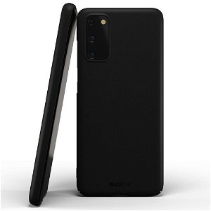 Nudient Thin Case V2 Samsung Galaxy S20 Deksel - Stealth Black