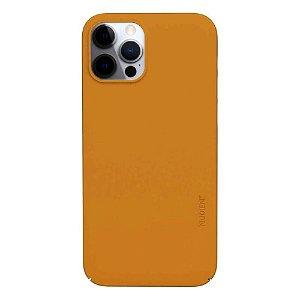 Nudient Thin Case V3 iPhone 12 Pro Max Deksel - Saffron Yellow