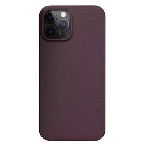 Nudient Thin Case V2 iPhone 12 Pro Max Bakdeksel - Sangria Red