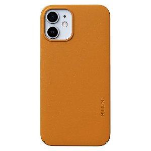 Nudient Thin Case V3 iPhone 12 Mini Deksel - Saffron Yellow
