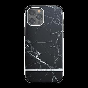 Richmond & Finch iPhone 12 Pro Max Deksel - Black Marble