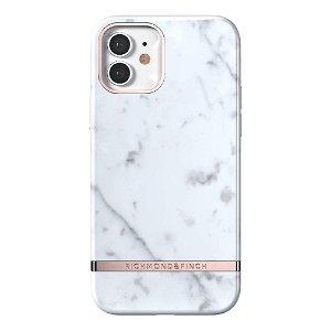 Richmond & Finch iPhone 12 / 12 Pro Deksel White Marble