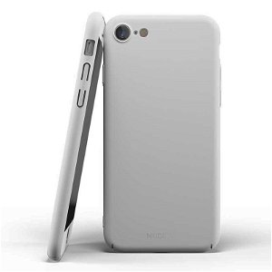 Nudient Thin Case V2 iPhone SE (2020) / 8 / 7 Deksel - Pearl Gray