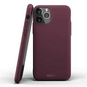 Nudient Thin Case V2 iPhone 11 Pro Deksel - Sangria Red