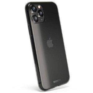 Nudient Thin Case iPhone 11 Pro Max Deksel - Gjennomsiktigt / Svart
