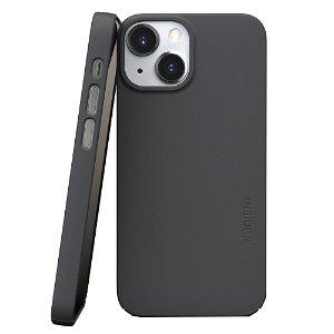 Nudient Thin Case V3 iPhone 13 Mini Deksel - Stone Grey