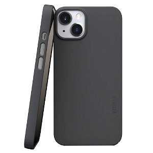 Nudient Thin Case V3 iPhone 13 Deksel - Stone Grey
