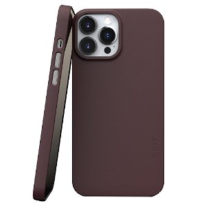 Nudient Thin Case V3 iPhone 13 Pro Max Deksel - Sangria Red