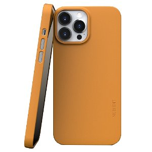 Nudient Thin Case V3 iPhone 13 Pro Max Deksel - Saffron Yellow