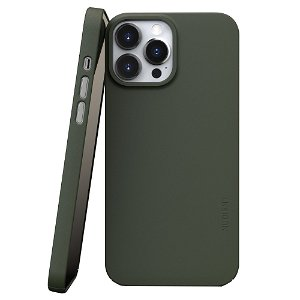 Nudient Thin Case V3 iPhone 13 Pro Max Deksel - Pine Green