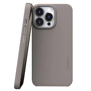 Nudient Thin Case V3 iPhone 13 Pro Deksel - MagSafe Kompatibel - Clay Beige