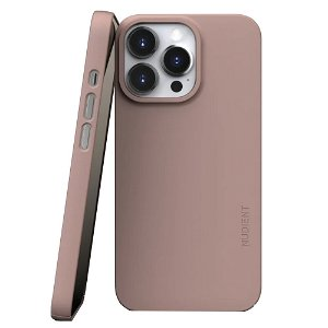 Nudient Thin Case V3 iPhone 13 Pro Deksel - Dusty Pink