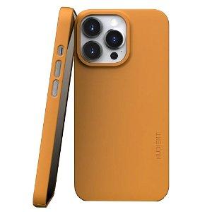 Nudient Thin Case V3 iPhone 13 Pro Deksel - Saffron Yellow