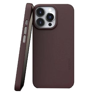 Nudient Thin Case V3 iPhone 13 Pro Deksel - Sangria Red