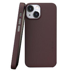Nudient Thin Case V3 iPhone 13 Mini Deksel - Sangria Red