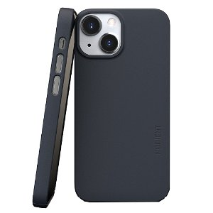 Nudient Thin Case V3 iPhone 13 Mini Deksel - Midwinter Blue