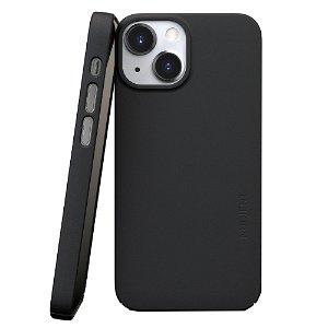 Nudient Thin Case V3 iPhone 13 Mini Deksel - Ink Black