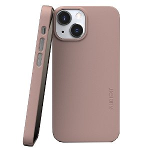 Nudient Thin Case V3 iPhone 13 Mini Deksel - Dusty Pink