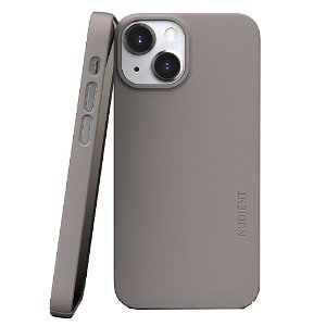 Nudient Thin Case V3 iPhone 13 Mini Deksel - Clay Beige
