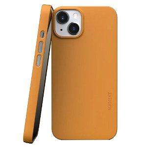Nudient Thin Case V3 iPhone 13 Deksel - Saffron Yellow