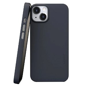Nudient Thin Case V3 iPhone 13 Deksel - Midwinter Blue