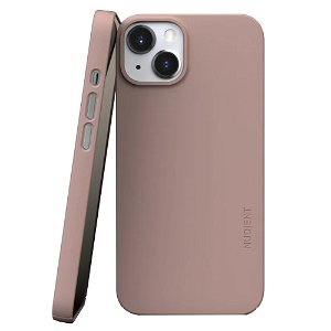 Nudient Thin Case V3 iPhone 13 Deksel - Dusty Pink
