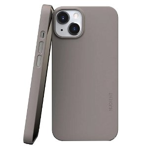 Nudient Thin Case V3 iPhone 13 Deksel - Clay Beige