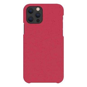 A Good Company iPhone 12 / 12 Pro 100% Plantebasert Deksel - Pomegranate Red