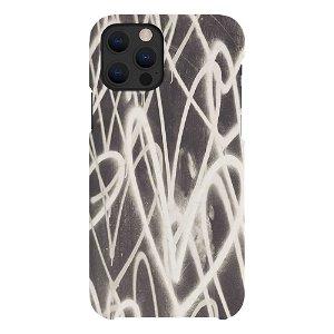 A Good Company iPhone 12 / 12 Pro 100% Plantebaseret Bagside - Grafitti