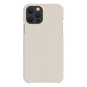 A Good Company iPhone 12 Pro Max 100% Plantebasert Deksel - Vanilla White