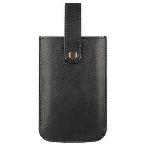 Key Premium Pouch Universal Skinn Etui Svart - Size M