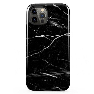Burga iPhone 12 / 12 Pro Tough Fashion Deksel - Noir Origin