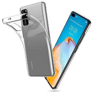 Huawei P40 Tech-Protect Flexair Crystal Deksel - Gjennomsiktig