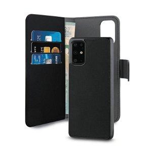 Huawei P40 Deksel Puro Wallet Detachable 2-In-1 Lommebok Svart