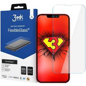 iPhone 13 Pro Max 3mk FlexibleGlass Skjermbeskytter - Gjennomsiktig